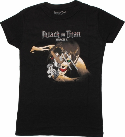 Attack on Titan Mikasa Chase Duo Baby Tee