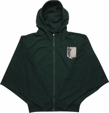 Attack on Titan Scout Costume Junior Hoodie