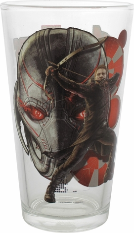 Avengers Age of Ultron Hawkeye Pint Glass
