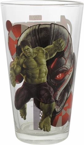 Avengers Age of Ultron Incredible Hulk Pint Glass