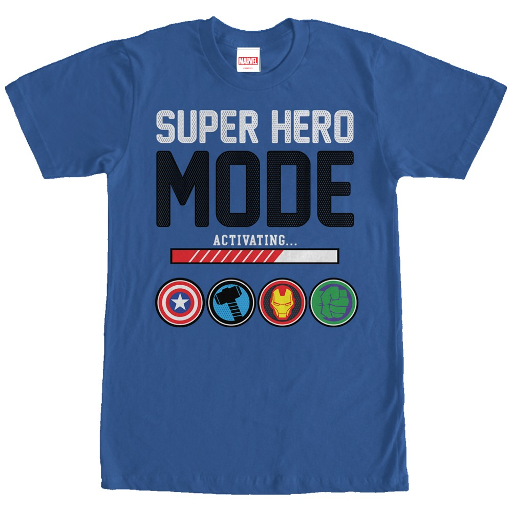 avengers super hero mode t shirt. Black Bedroom Furniture Sets. Home Design Ideas