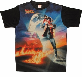 Back to the Future Poster BB Sublimated T Shirt
