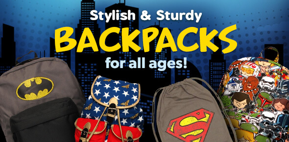 Featured Superhero Backpacks