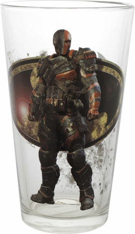 Batman Arkham Knight Deathstroke TT Pint Glass