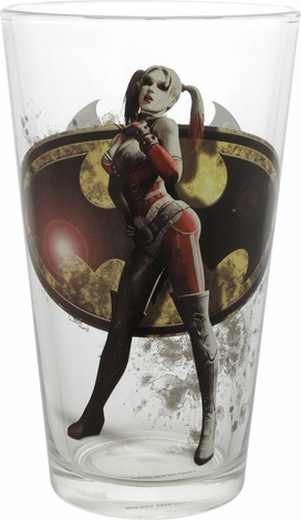 Batman Arkham Knight Harley Quinn TT Pint Glass