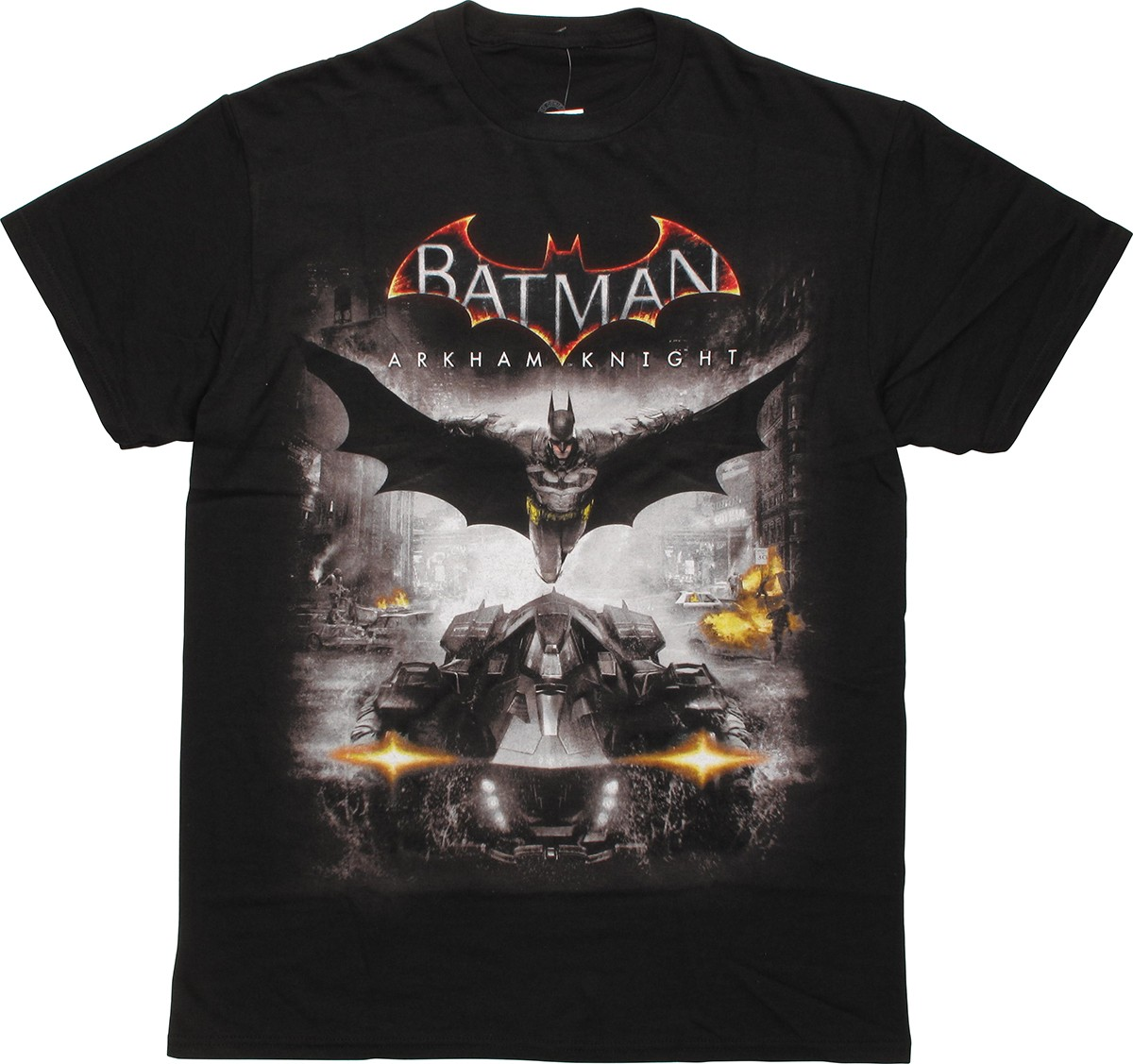 batman arkham knight poster t shirt. Black Bedroom Furniture Sets. Home Design Ideas