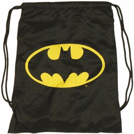 Batman Cape Drawstring Backpack