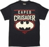 Batman Caped Crusader Gotham City USA T-Shirt