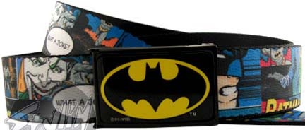 Batman Comic Mesh Belt