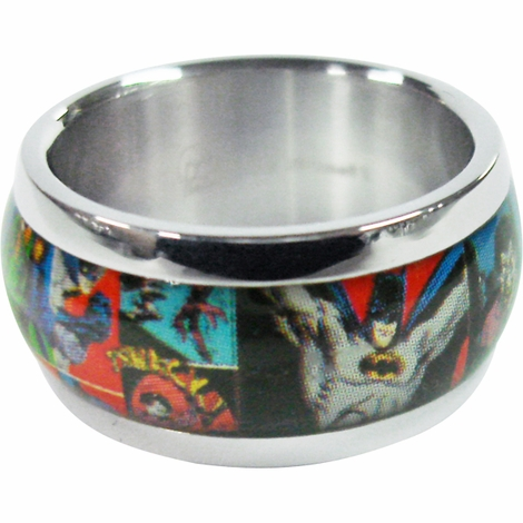 Batman Comic Ring