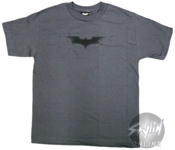 Batman Dark Knight Logo Youth T Shirt