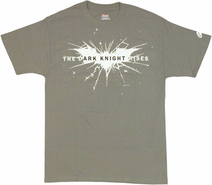 Prepare yourself for the movie event of the summer with a for Dark knight returns logo t shirt