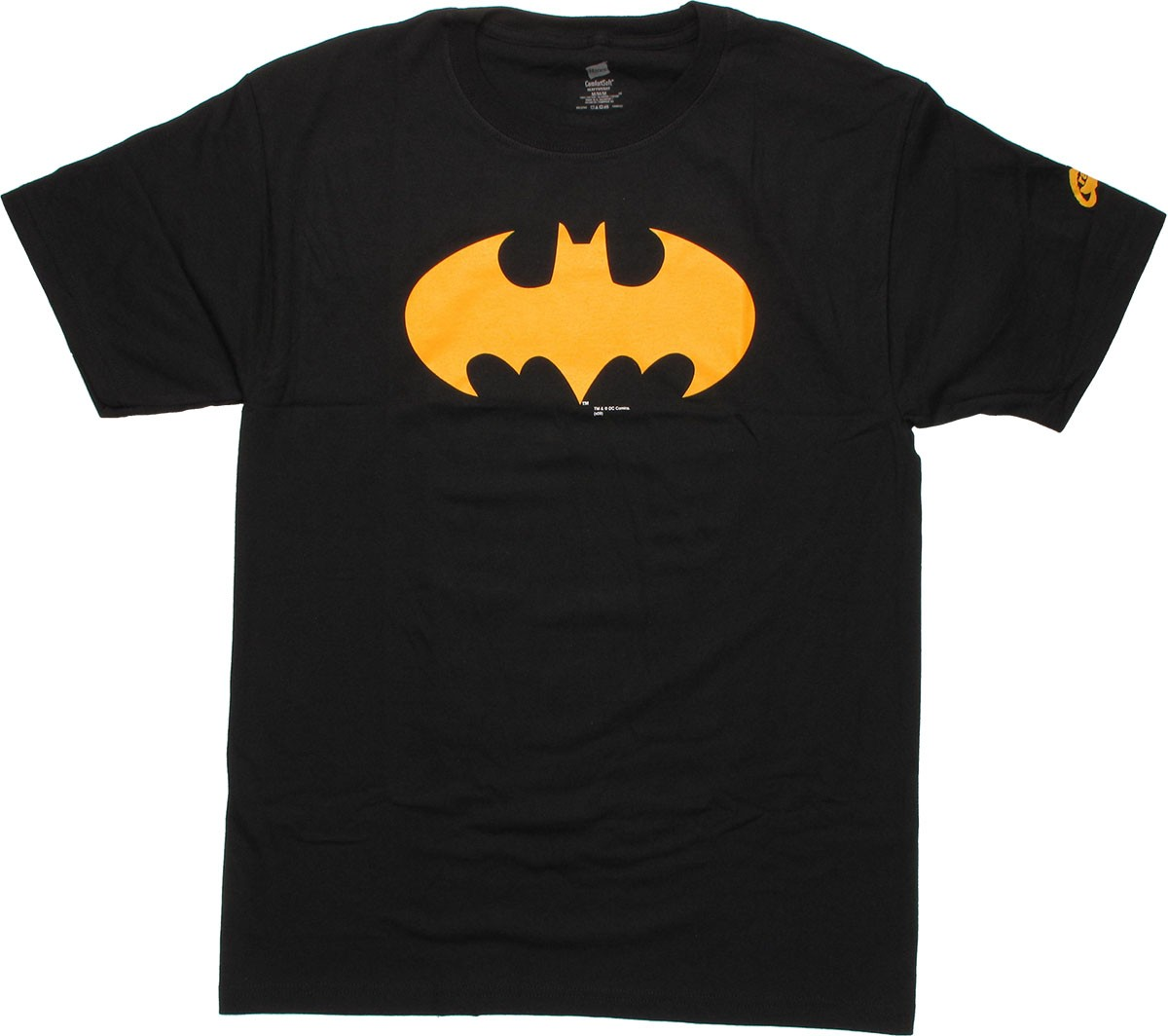 batman gold symbol t shirt. Black Bedroom Furniture Sets. Home Design Ideas