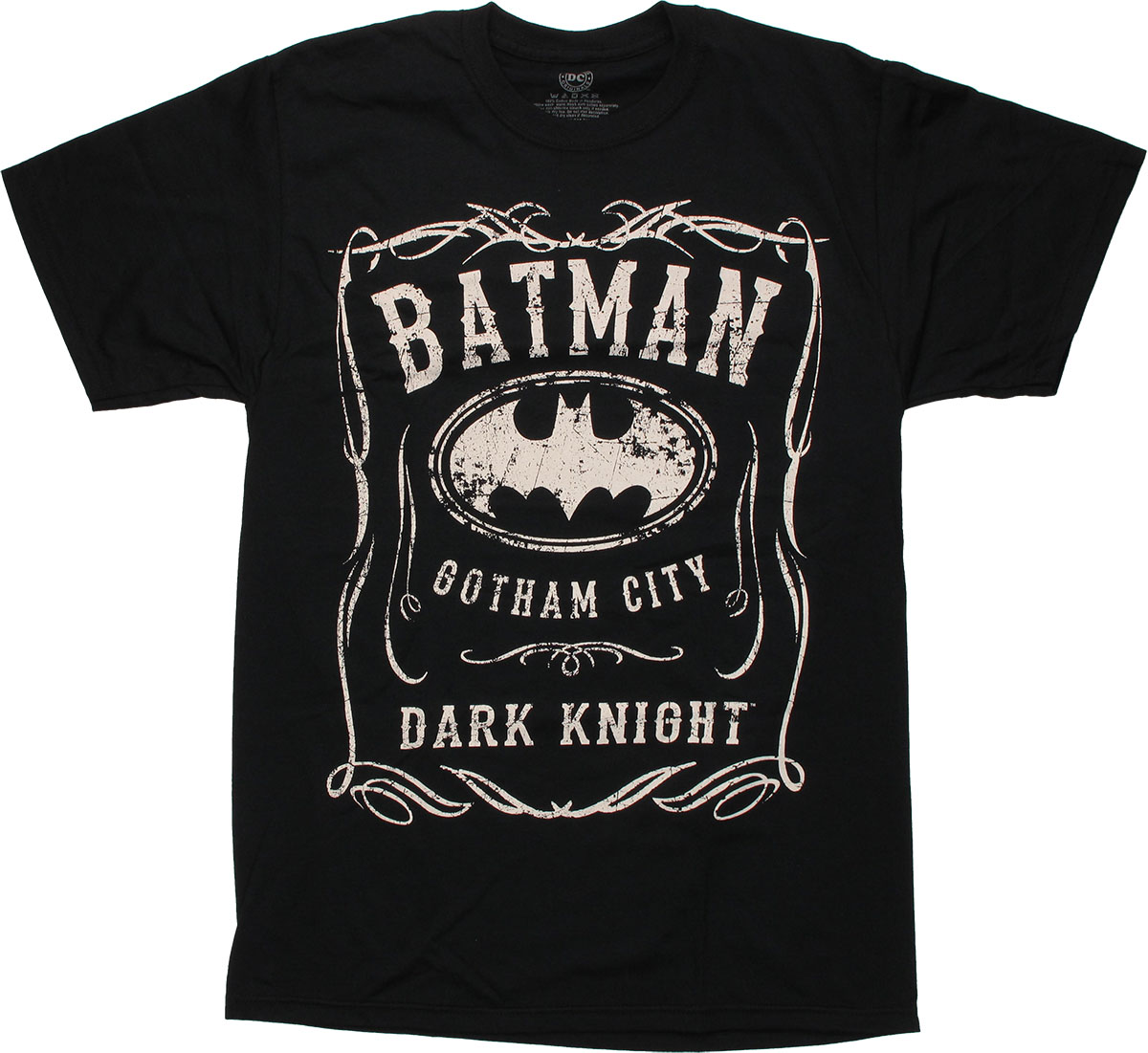 batman gotham city dark knight t shirt. Black Bedroom Furniture Sets. Home Design Ideas