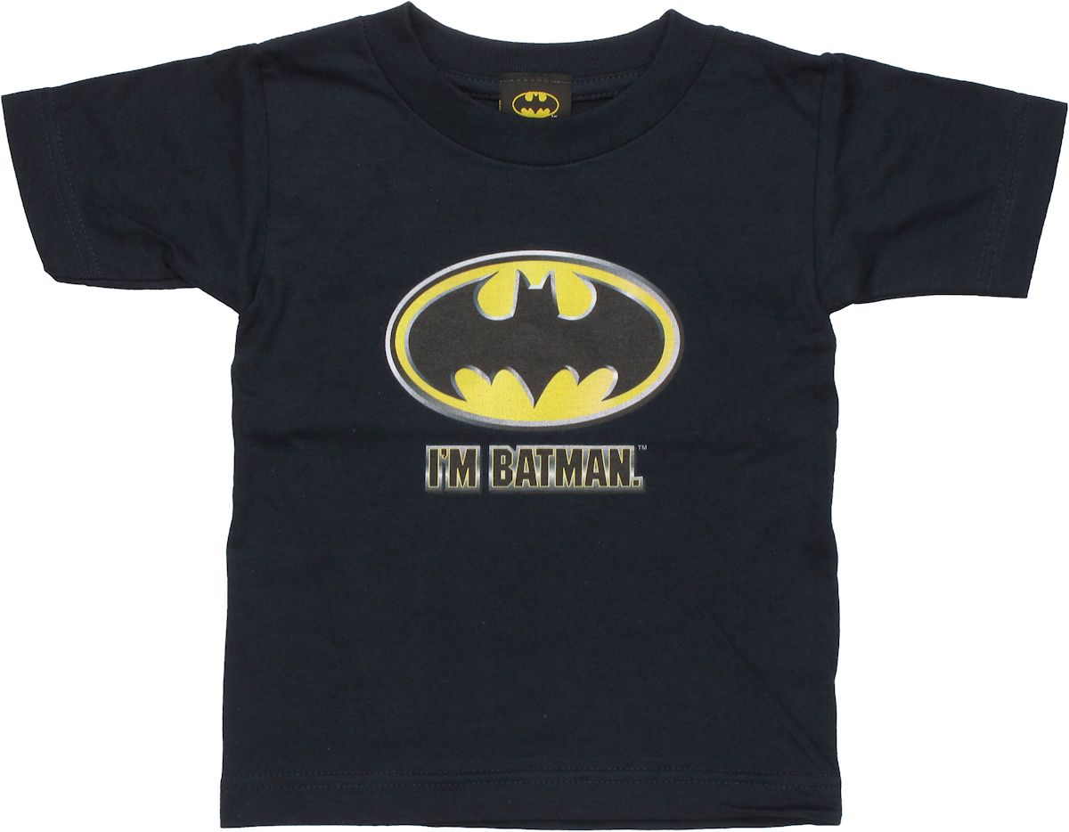 batman im batman toddler t shirt. Black Bedroom Furniture Sets. Home Design Ideas