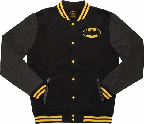 Batman Letterman Snap Jacket