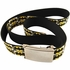 Batman Checked Logo Mesh Belt