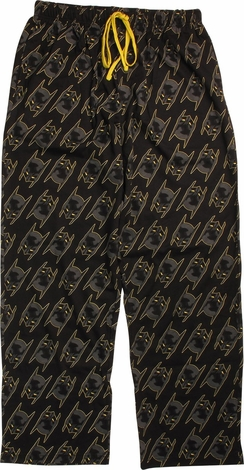 Batman Mask All Over Print Lounge Pants