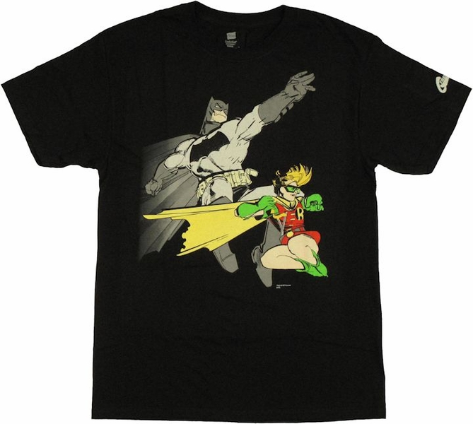 batman robin the dark knight returns t shirt