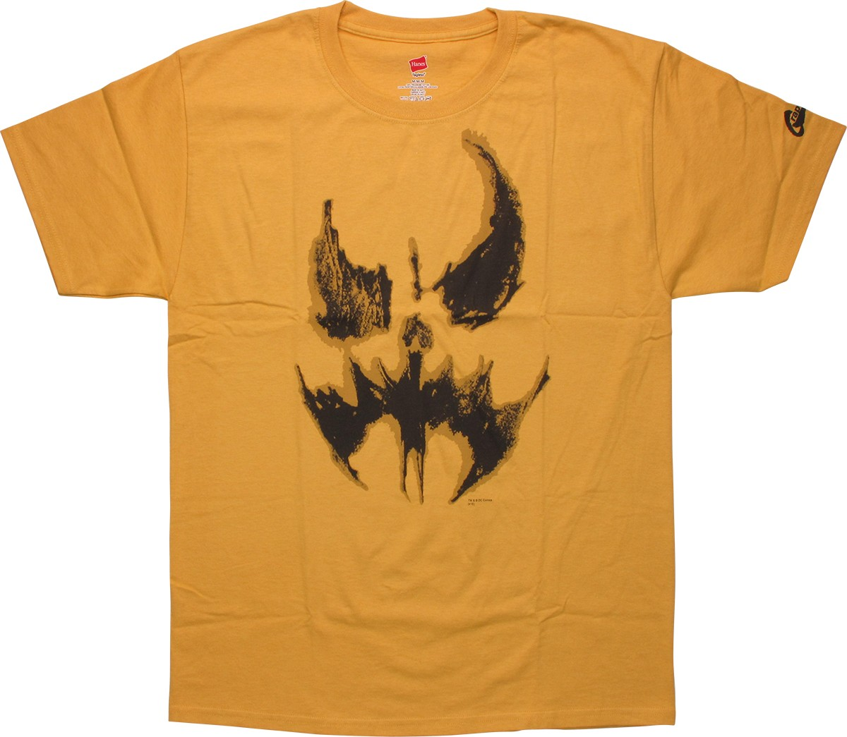batman scarecrow face t shirt. Black Bedroom Furniture Sets. Home Design Ideas
