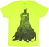 Batman Silhouette Neon T Shirt Sheer