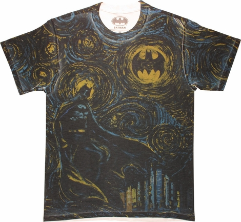 Batman Starry Gotham Sublimated T-Shirt