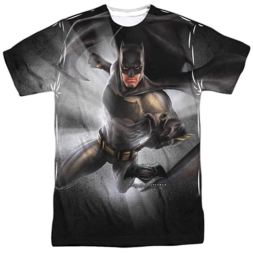 batman v superman bat full sublimated t shirt. Black Bedroom Furniture Sets. Home Design Ideas