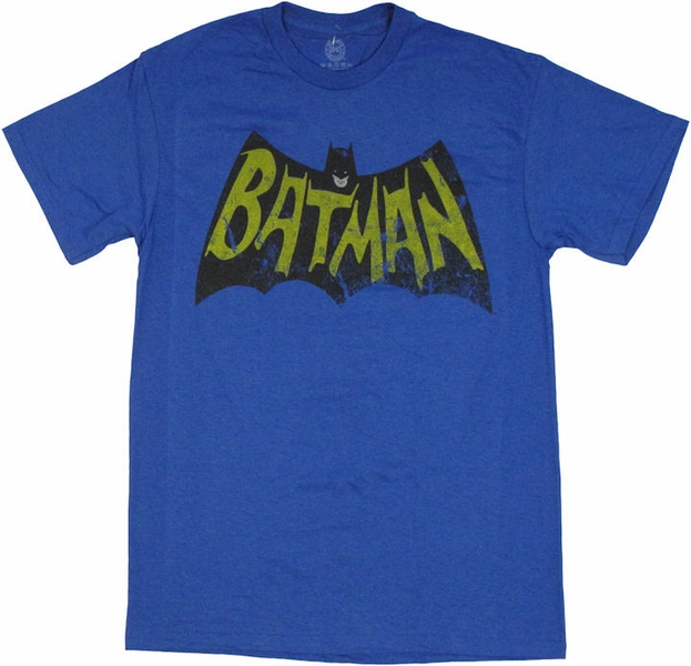 batman vintage logo t shirt. Black Bedroom Furniture Sets. Home Design Ideas