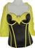 Batman Yellow Bat Logo and Cape Corset Lingerie