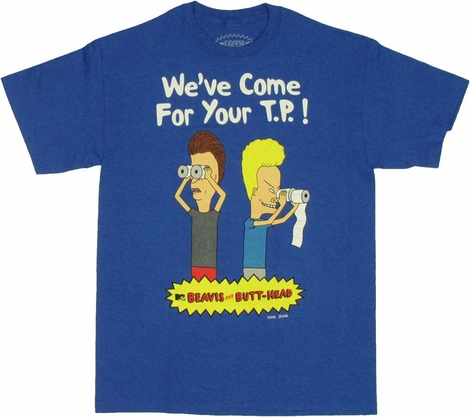 Beavis and Butthead TP T Shirt
