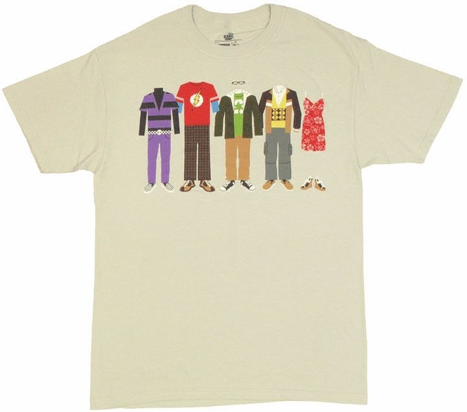 big bang theory clothing t shirt. Black Bedroom Furniture Sets. Home Design Ideas