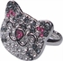 Big Bang Theory Soft Kitty Crystal Ring