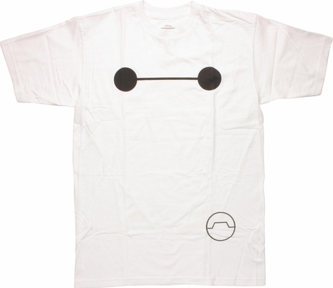 Big Hero 6 Baymax Big Face T-Shirt