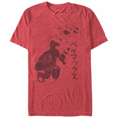 Big Hero 6 Baymax Landing T-Shirt