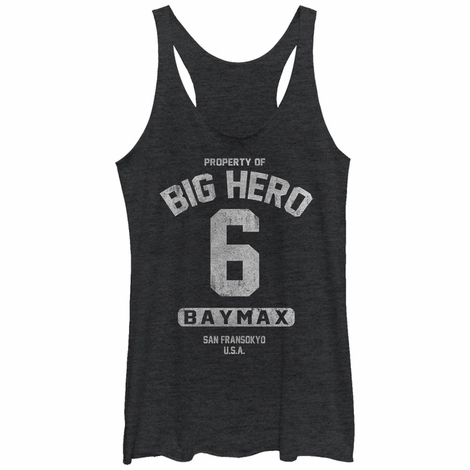 Big Hero 6 Baymax Property Tank Juniors T-Shirt