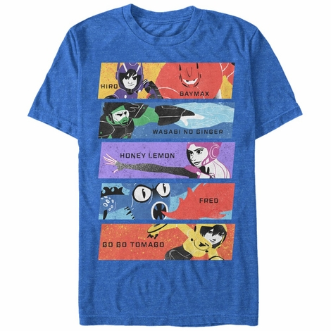 Big Hero 6 Hiros Heroes T-Shirt