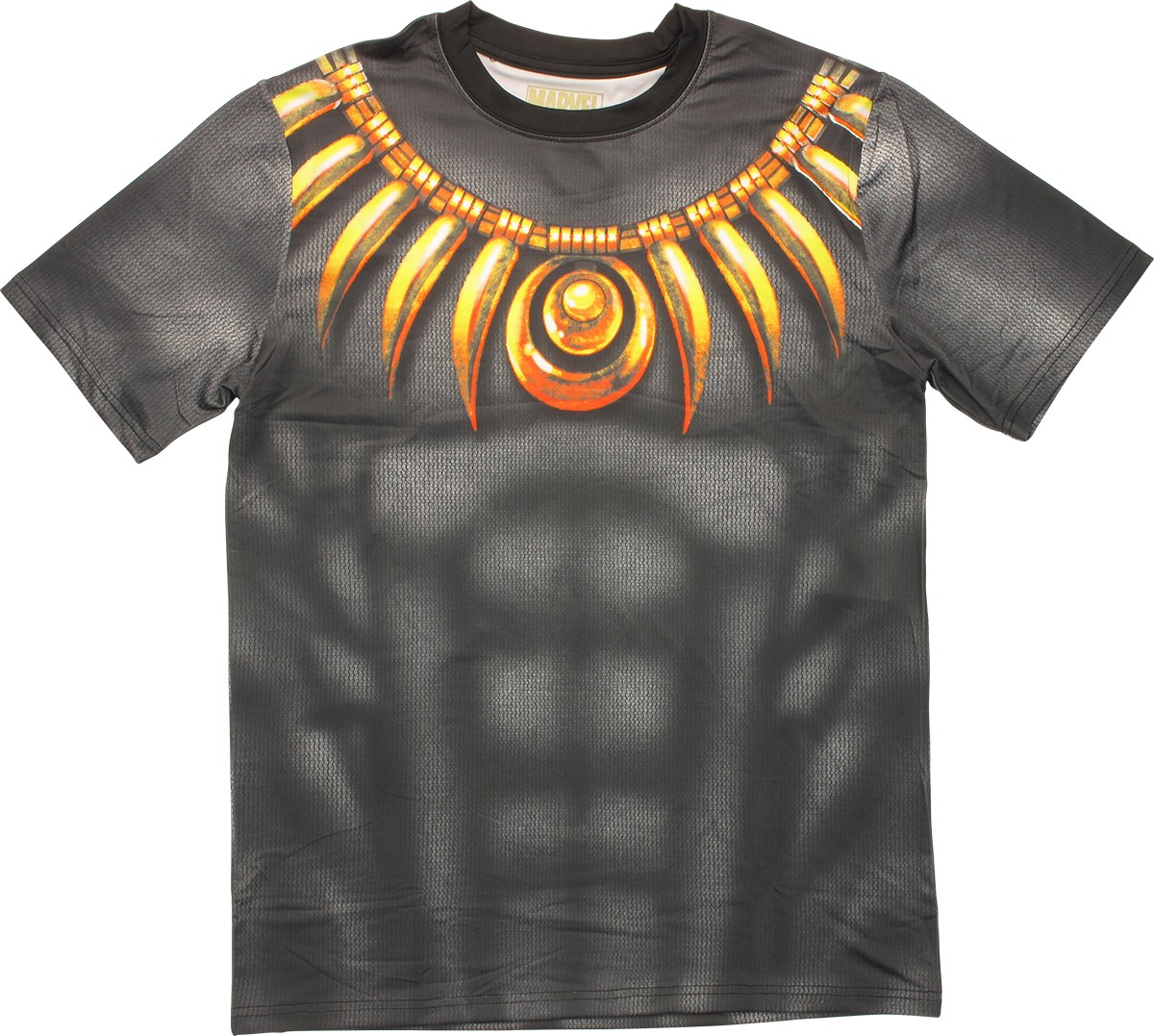 Black panther sublimated costume t shirt sheer for Costume t shirts online