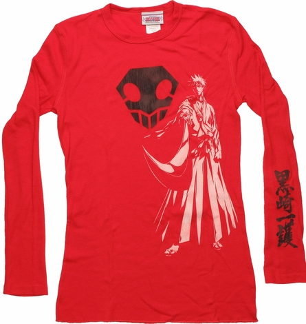Bleach Shinigami Long Sleeve Ladies Tee