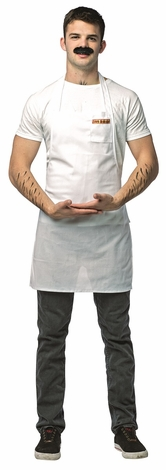 Bob's Burgers Bob Apron and Mustache Adult Costume
