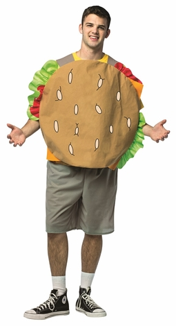 Bob's Burgers Gene Cheeseburger Adult Costume
