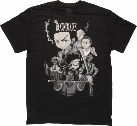 Boondocks Character Montage T-Shirt