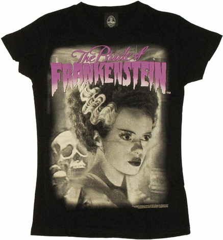 Bride of Frankenstein Portrait Baby Tee