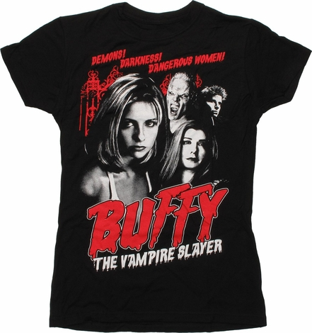 Buffy the Vampire Slayer Demons Baby Tee