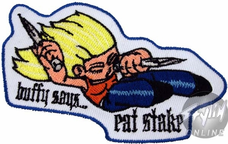 Buffy the Vampire Slayer Eat Stake Patch