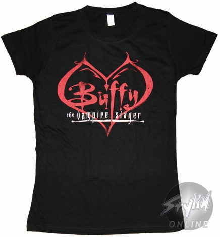 Buffy the Vampire Slayer In Heart Baby Tee