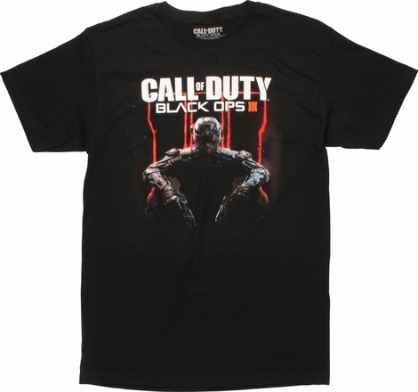 Call of Duty Black Ops 3 Art Cover T-Shirt