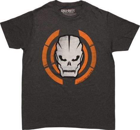 Call of Duty Black Ops 3 Skull Heather T-Shirt