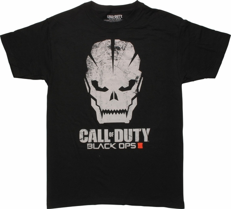 Call of Duty Black Ops 3 Skull Logo T-Shirt