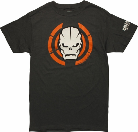Call of Duty Black Ops 3 Skull Target T-Shirt