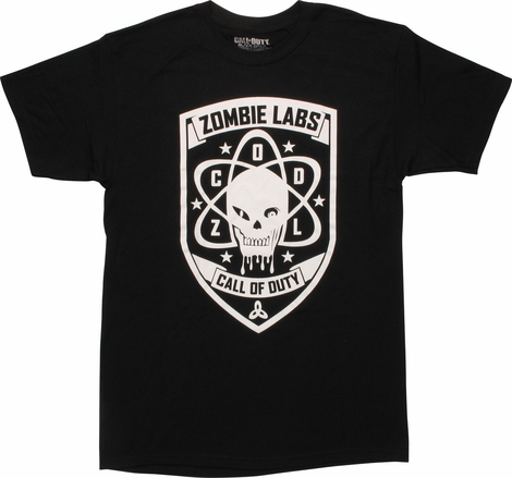 Call of Duty Black Ops 3 Zombie Labs T-Shirt